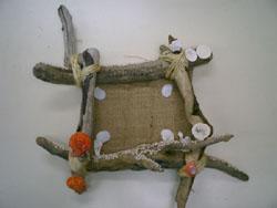 貝殻クラフト・流木アート教室
